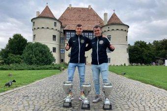 Taroltak a Góbék az erdélyi teqballversenyen