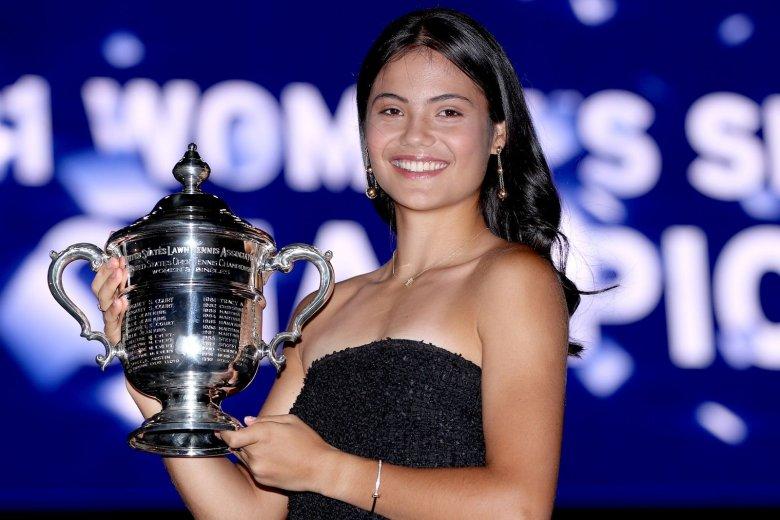A US Open-bajnok Răducanu 127 helyet javított a világranglistán