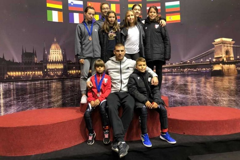 Jól teljesítettek Budapesten a csíki korcsolyázók