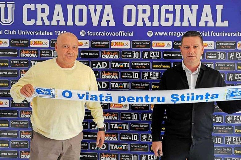 Az FC U Craiova megtalálta új vezetőedzőjét, Flavius Stoican a kiválasztott