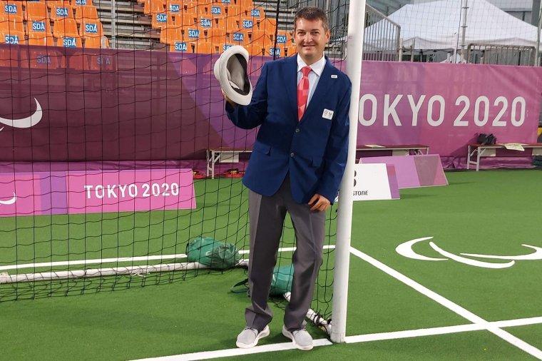 Játékvezetőként a paralimpián: a székelyudvarhelyi Bálint Attila élményeiről, a vakfoci üzenetéről