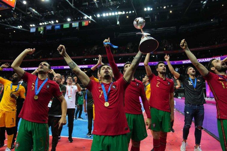 A portugálok először nyerték meg a teremlabdarúgó vb-t