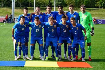 Csúnya vereségbe szaladt bele Angliában a román U20-as fociválogatott