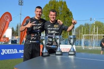 Teqball: Györgydeák világbajnokokat legyőzve lett tornagyőztes Varsóban