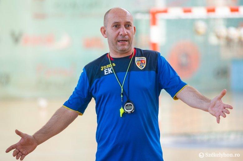 Kacsó Endre a román futsalválogatott új szövetségi kapitánya
