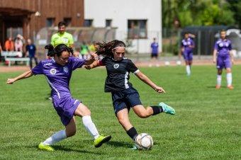Harmadik lett Székelyudvarhely lánycsapata az országos korosztályos focibajnokságon