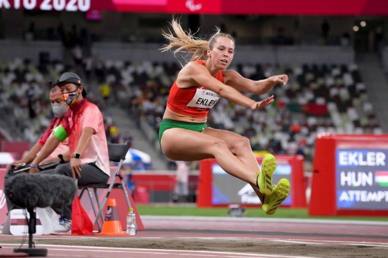 Ekler Luca világcsúccsal aranyérmes távolugrásban a paralimpián