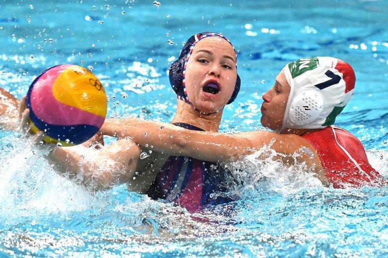 Először nyert érmet olimpián a magyar női vízilabda-válogatott