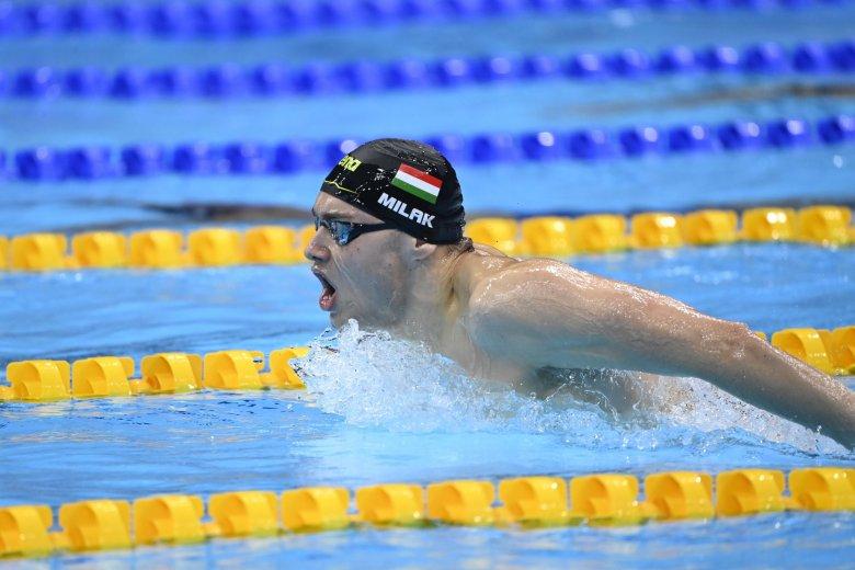 Milák Kristóf óriási úszással olimpiai bajnok