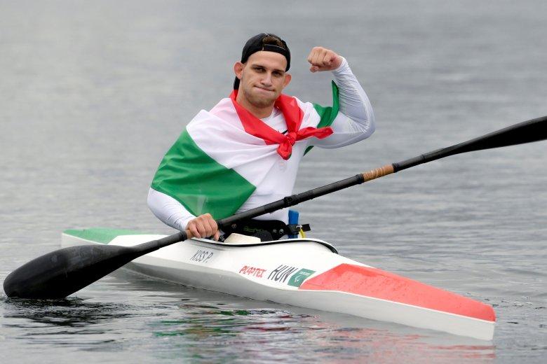 A kajakos Kiss Péter Pál aranyérmes a tokiói paralimpián