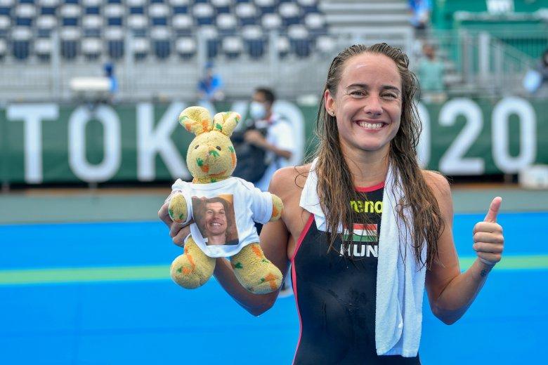 Tokió 2020: Olasz Anna kiváló eredményt ért el nyíltvízi úszásban