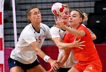 Jól tartotta magát a magyar női kéziválogatott, de kikapott a favorit norvégoktól a tokiói negyeddöntőben