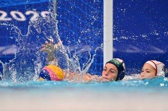 Negyeddöntős Tokióban a magyar női vízilabda-válogatott