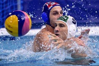 Elverték a horvátokat, elődöntőben a magyar férfi pólóválogatott