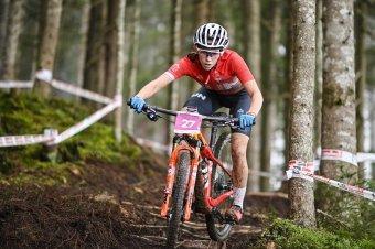 Magyar bravúr hegyikerékpárban, Vas Kata Blanka negyedik helyen ért célba