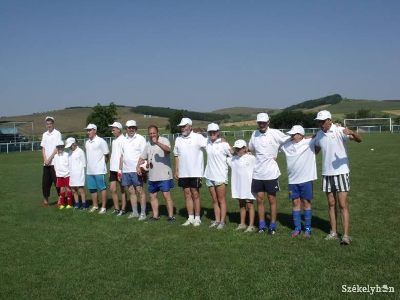 A hétvégén sportoltak a magyar nagycsaládosok