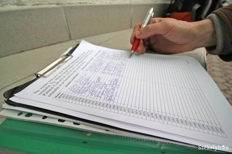 Rendőrség vizsgálja a Butát támogató aláírás hitelességét