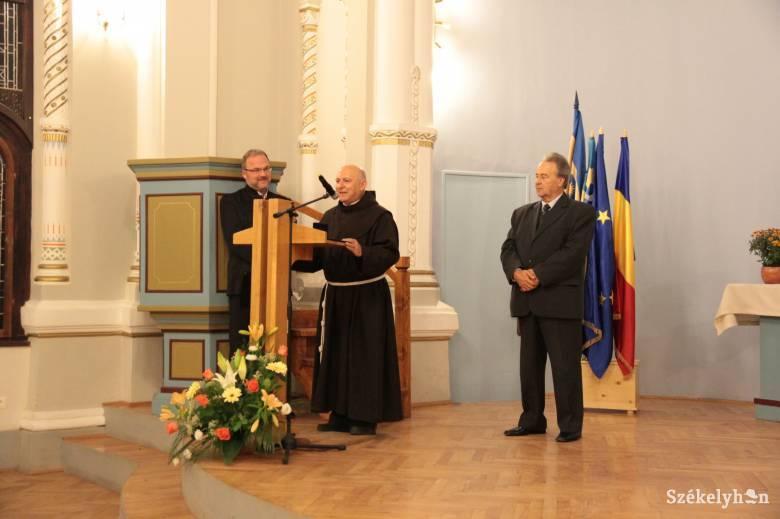 Orbán Balázs-díj Pál atyának