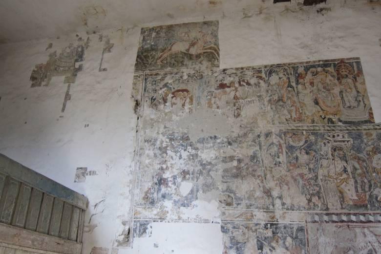 Egy eddig ismeretlen Szent László-falképre találtak a restaurátorok