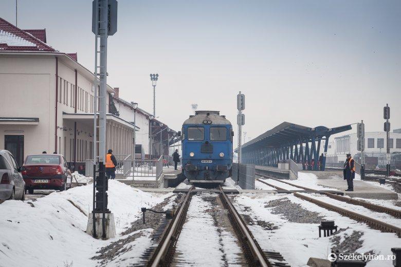 Marosvásárhely–Budapest vonatjárat január 10-ig átszállás nélkül