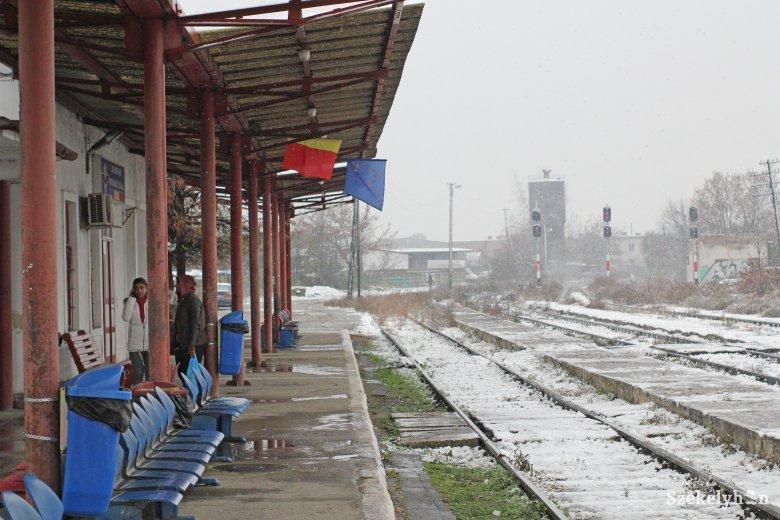 Karácsony előtt befut a közvetlen budapesti járat a marosvásárhelyi állomásra is