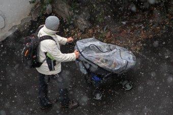 Szokatlanul hidegre fordul az időjárás, a hegyekben havazás sem kizárt