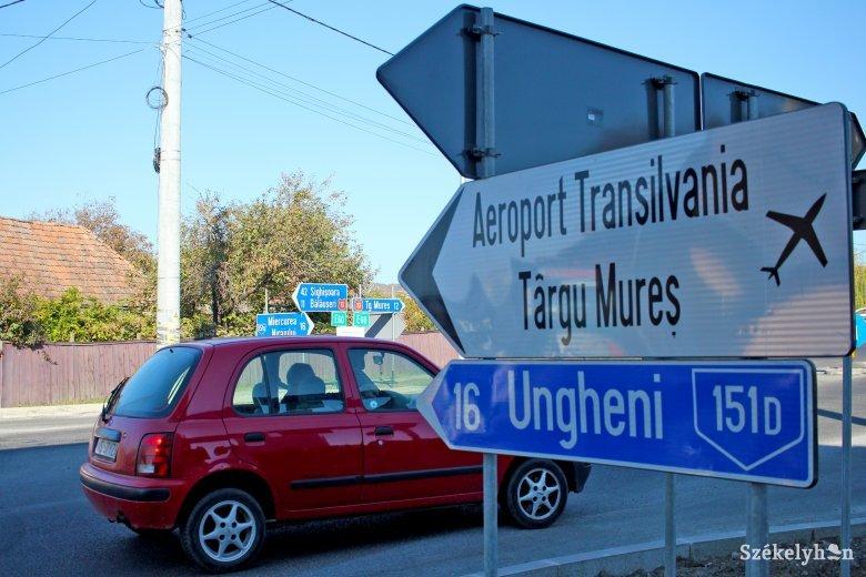 Hatalmas közlekedési csomópontot terveznek a marosvásárhelyi reptérhez