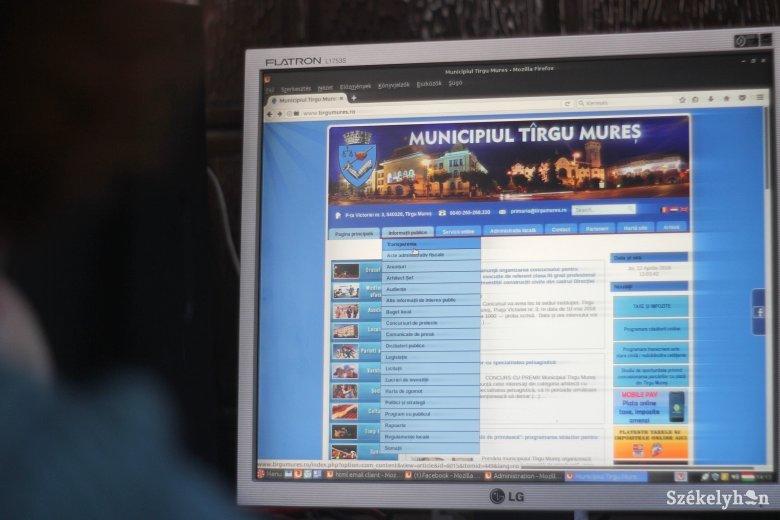 E-kormányzás: Csíkszereda beragadt, Marosvásárhely és Székelyudvarhely jól teljesít