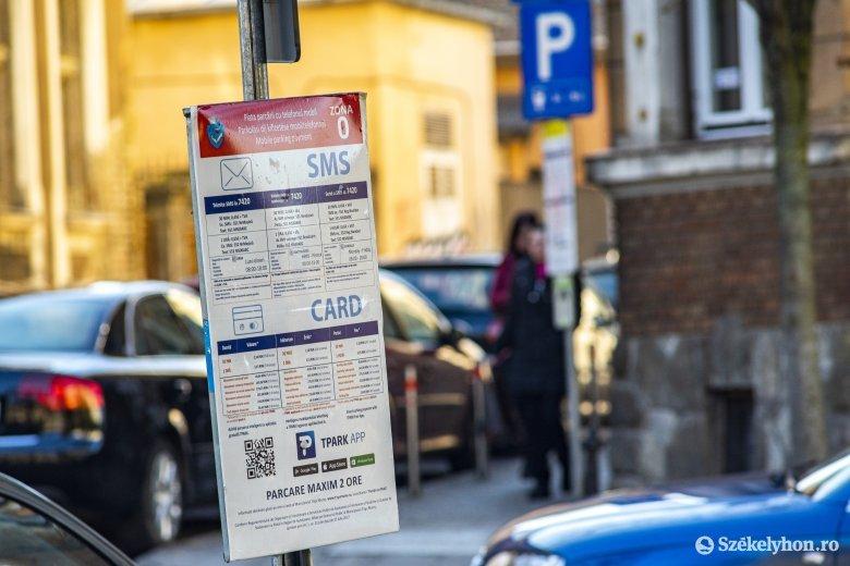 Drágul a parkolás az új évtől Marosvásárhelyen