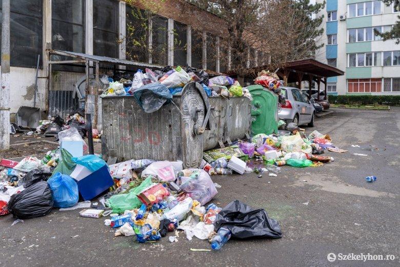 Marosvásárhely: nincs előrelépés a hulladékgazdálkodási versenytárgyalás kérdésében
