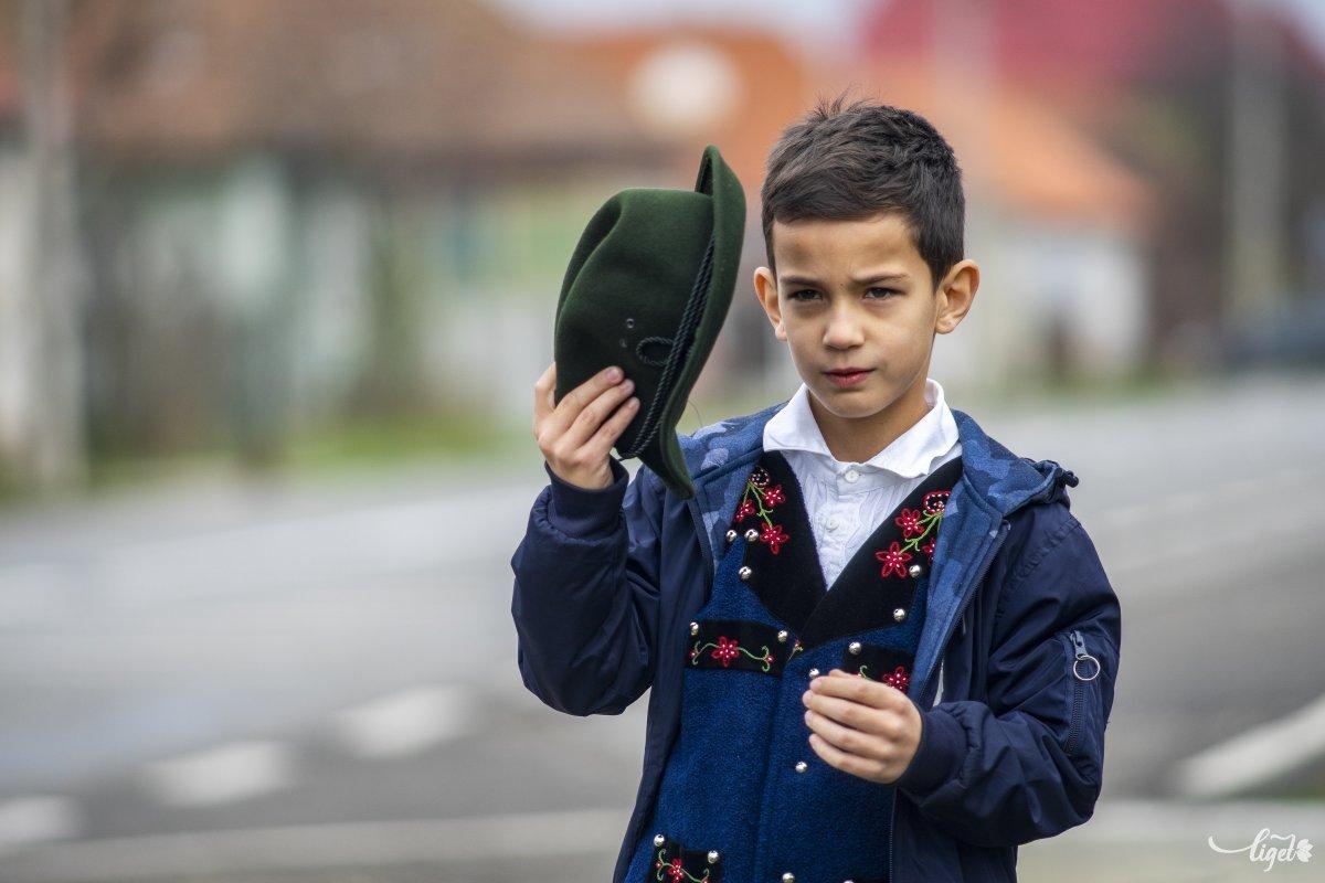Már nem csak Körtvélyfáján ismerik a tehetséges kisfiút •  Fotó: Haáz Vince
