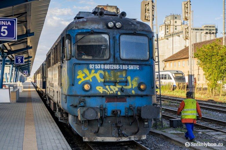 Kétszer is a vonat elé akarta vetni magát egy idős nő Marosvásárhelyen