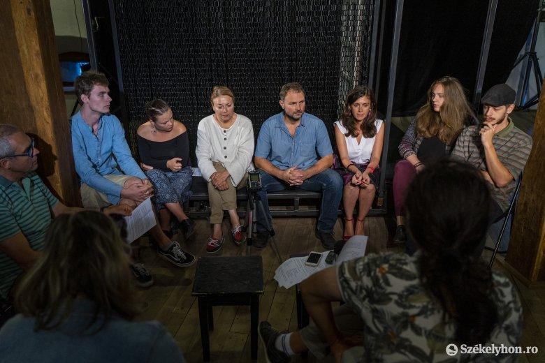 A migráció témájában mutat be előadásokat a marosvásárhelyi Yorick Stúdió