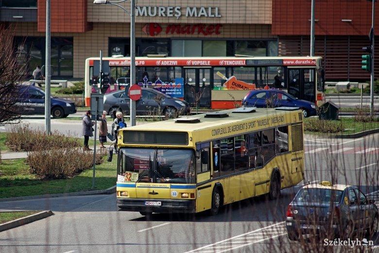 Továbbra is várni kell a régi, ócska városi buszok lecserélésére Marosvásárhelyen