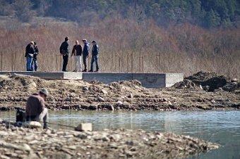 Egyelőre állnak a bözödújfalusi templom újjáépítési munkálatai