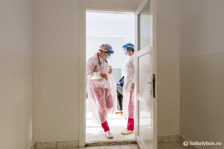 Már több mint 1500 beteget kezelnek országosan intenzív osztályon, Kovászna megyében közel megtízszereződött az esetszám