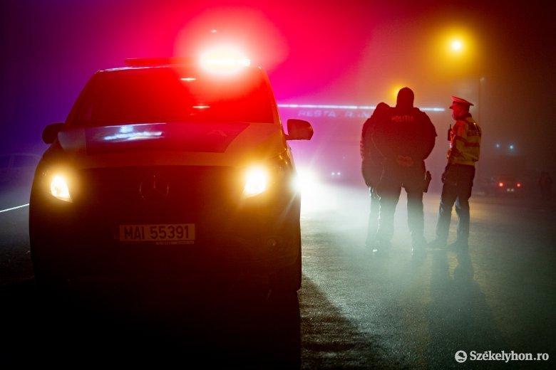Pozitív lett a sofőr drogtesztje, folyik a vizsgálat
