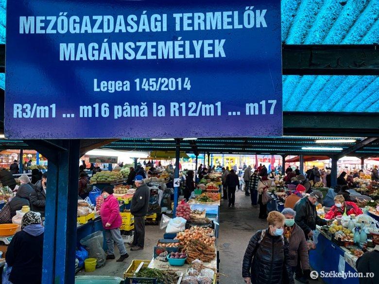 A járványhelyzet miatt kevesebb időskorú jár piacra