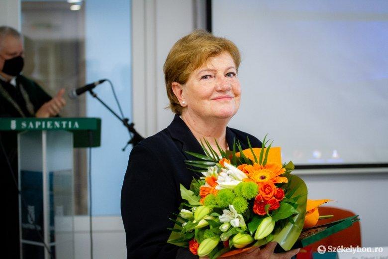 A Sapientia egyetem Bocskai-díjával tüntették ki Szili Katalint