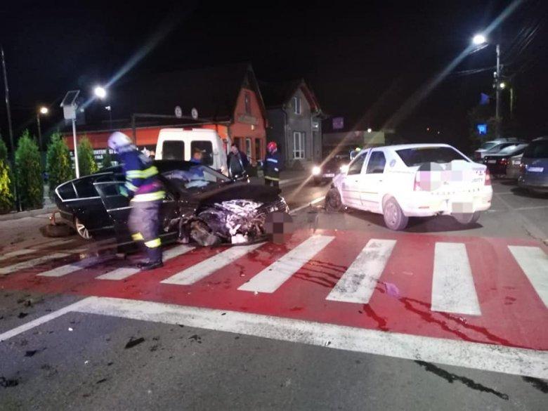 Három autó ütközött Marosludason
