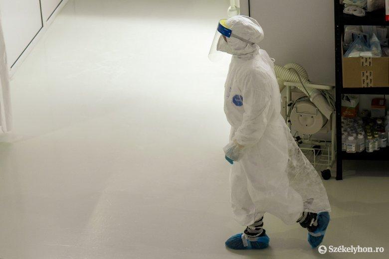 Enyhén csökkent az újonnan azonosított koronavírus-fertőzöttek száma