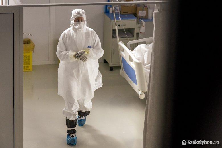 Közel négyszáz fertőzött szorul kórházi ellátásra Maros megyében