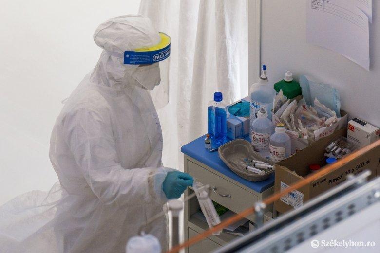 Kevesebb tesztet végeztek, így is közel négyezer új fertőzöttet azonosítottak