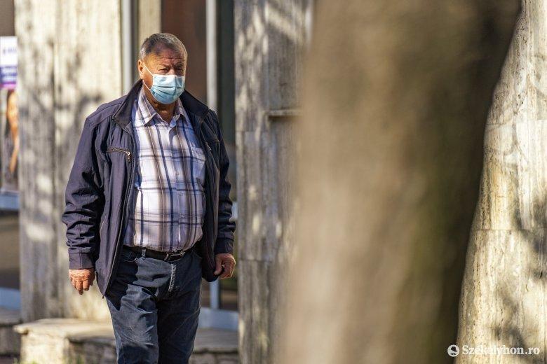 Kovászna megyében 5, Sepsiszentgyörgyön 8 ezrelék felett a fertőzöttségi mutató