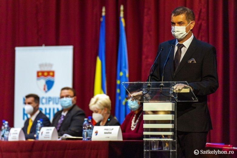 Hivatalosan ismét magyar polgármestere van Szászrégennek