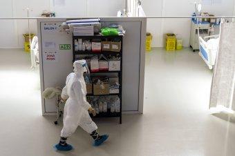 Ötven új fertőzöttet regisztráltak vasárnap óta