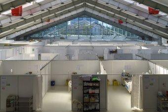 Újranyitják az ideiglenes marosvásárhelyi Covid-kórházat
