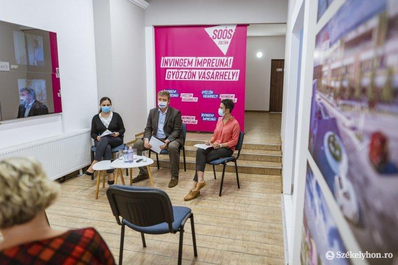 Bemutatta Soós Zoltán és csapata a családbarát városról szóló programját