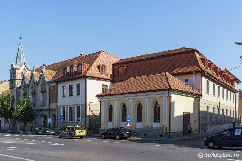 Folytatódik az unitárius egyház marosvásárhelyi épületének felújítása