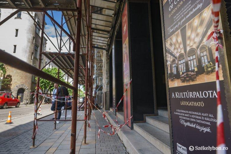 Szerződést bontottak a Kultúrpalota felújítását végző céggel